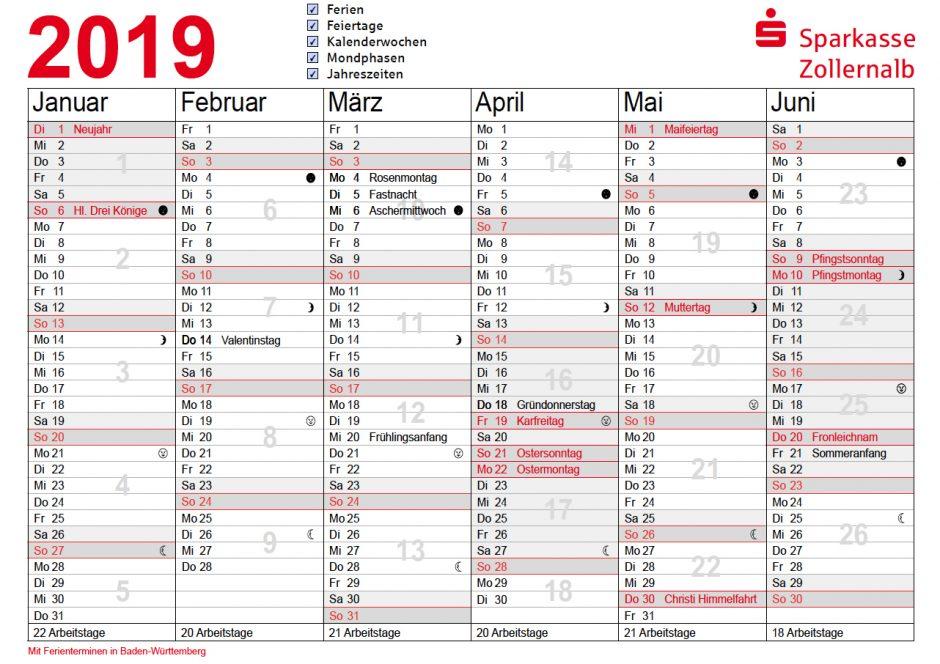 Mein persönlicher Jahresplaner
