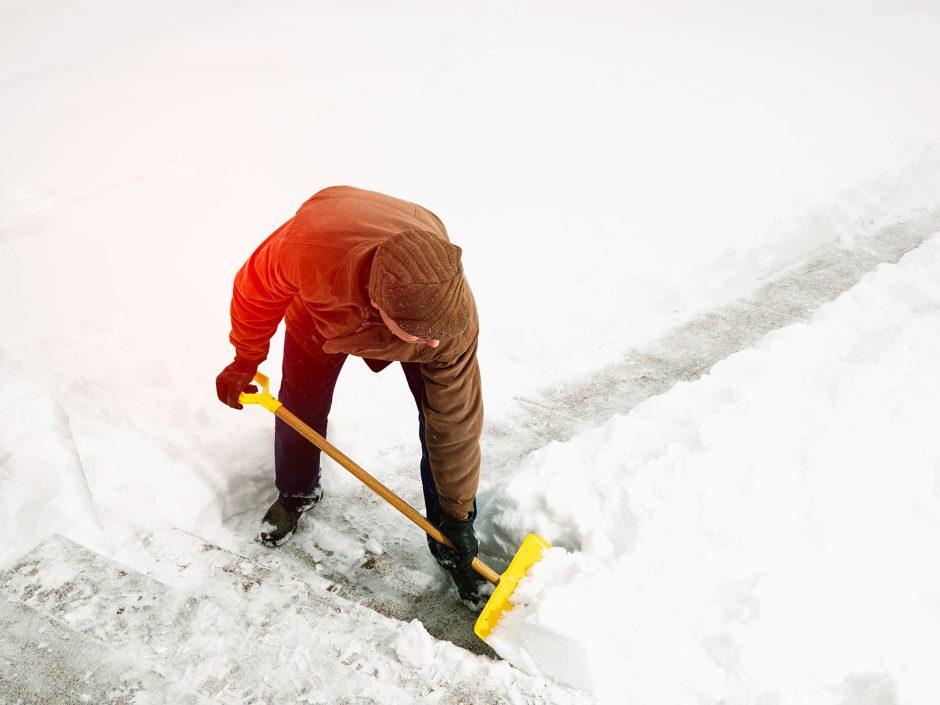 Schneefall: Räumpflicht für Eigentümer