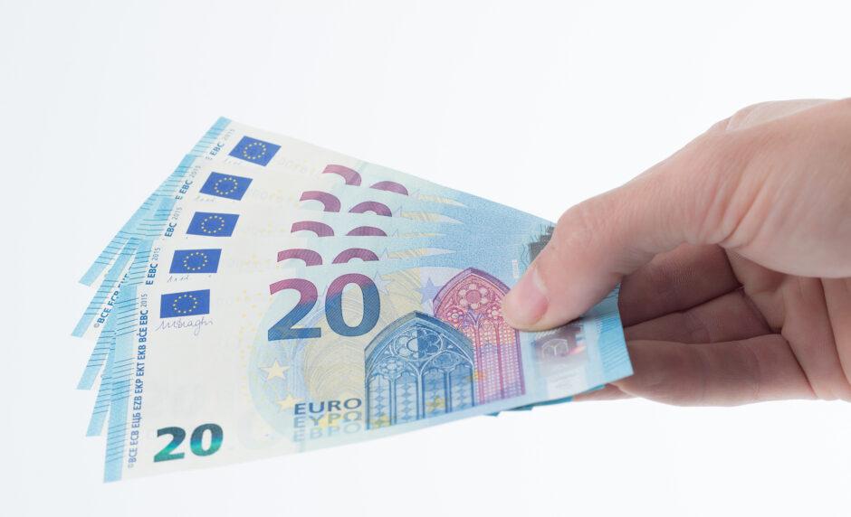 Neuer Lack für den 20-Euro-Schein